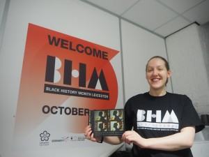 Gemma Clarke with BHM Brochure 2000