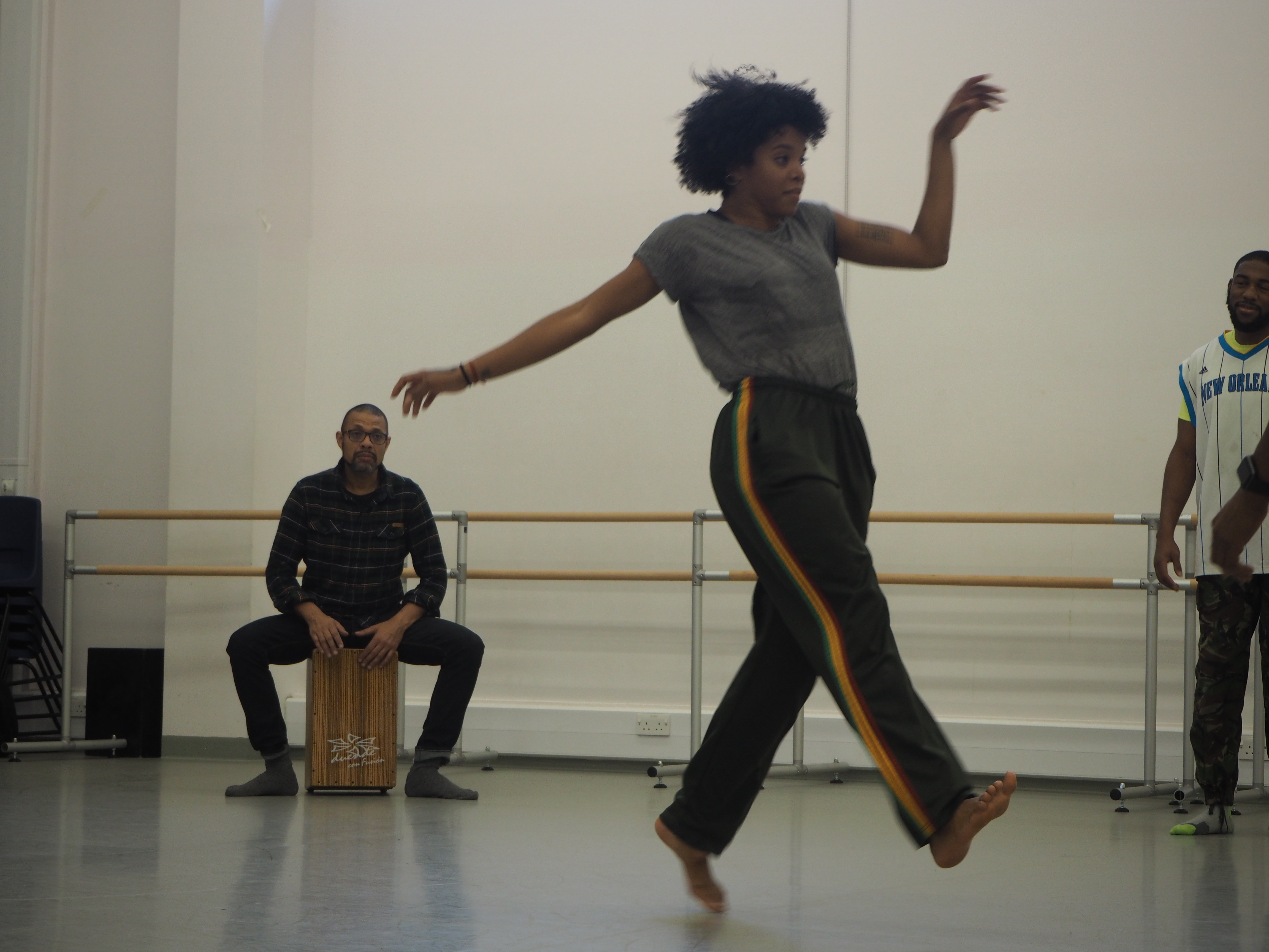 Catherine Dénécy at Developing Your Choreographic Voice 2
