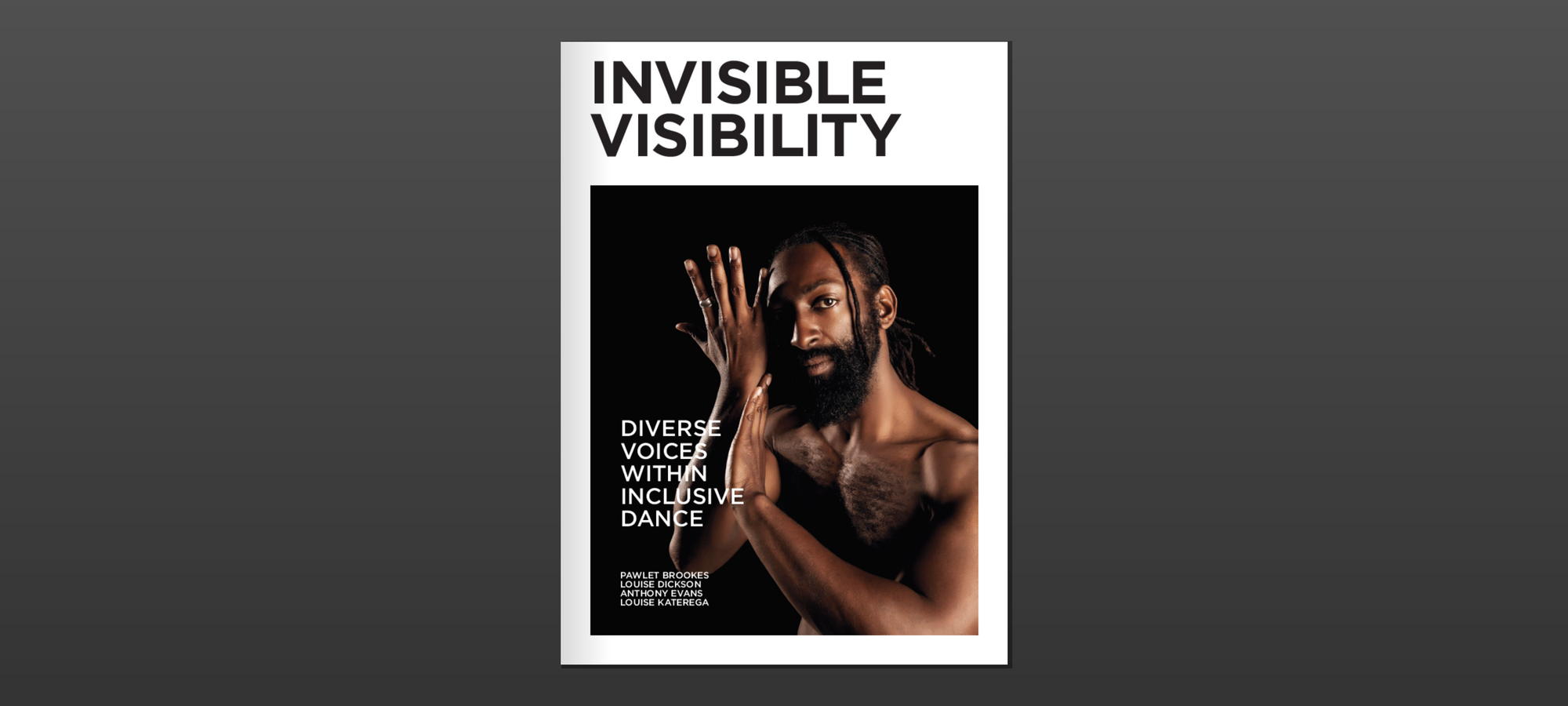 Invisible Visibility: Diverse Voices within Inclusive Dance — Page Banner