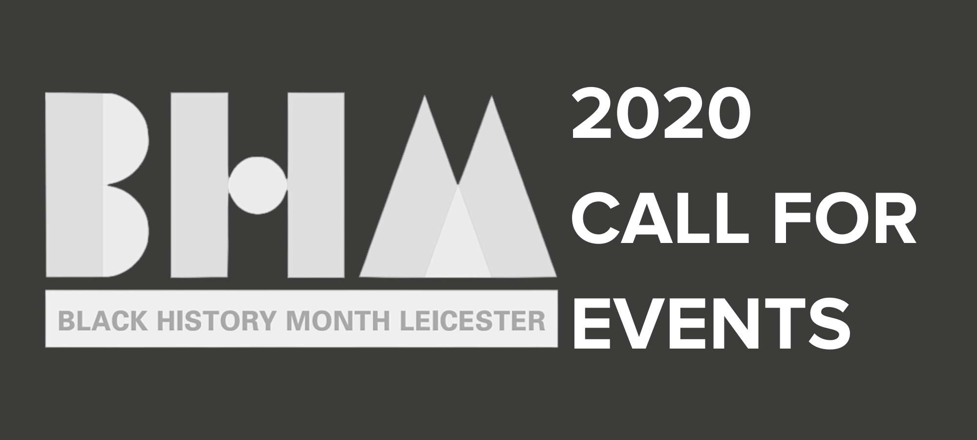 BHM20 Call Out For Events — Page Banner