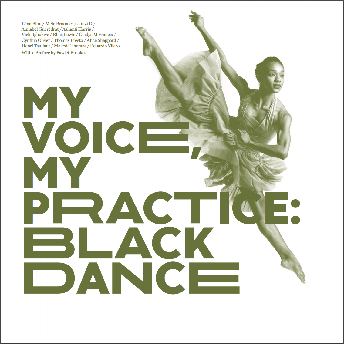 My Voice, My Practice: Black Dance — Page Banner