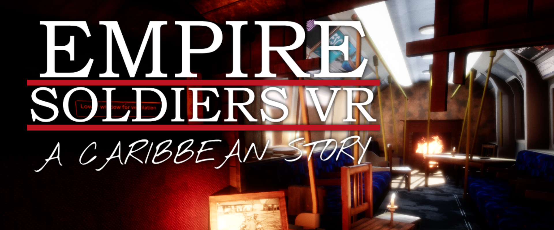 EMPIRE SOLDIERS: A Caribbean Story — Page Banner