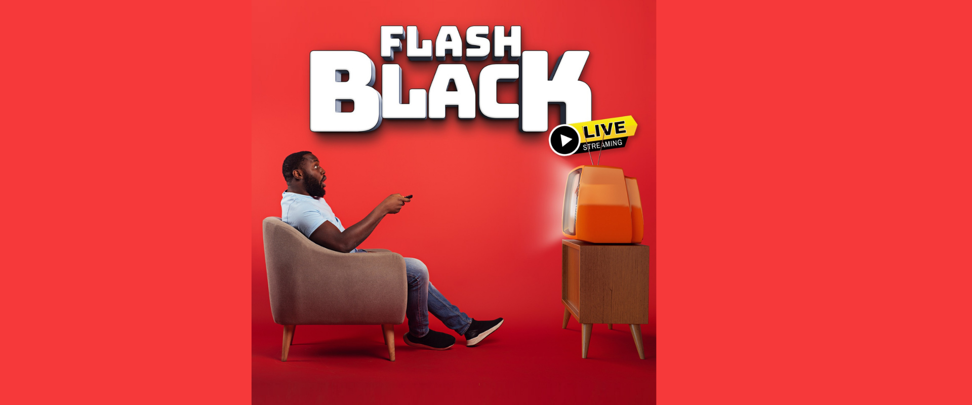 Flash Black — Page Banner