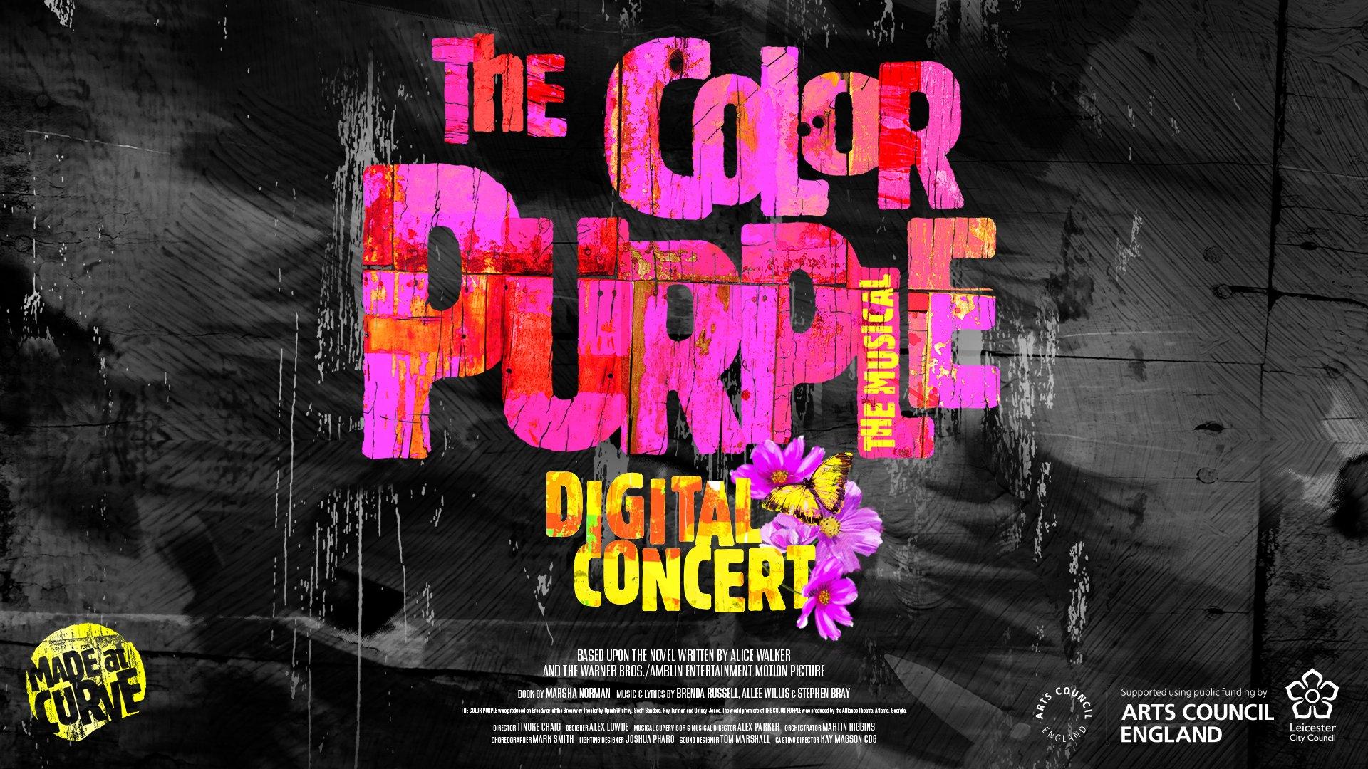 The Color Purple – Digital Concert — Page Banner