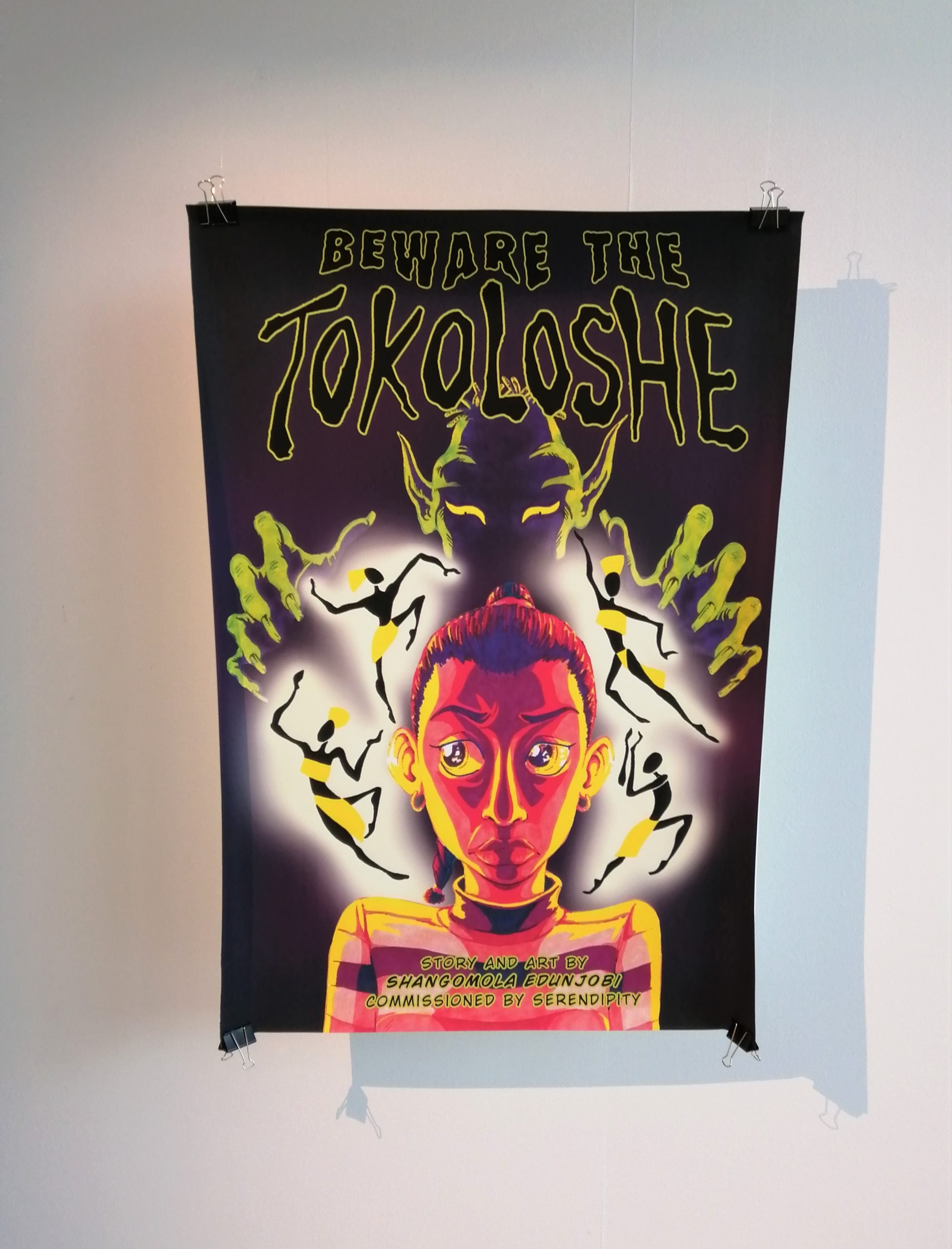 Beware of the Tokoloshe by Shangomola Edunjobi — Page Banner