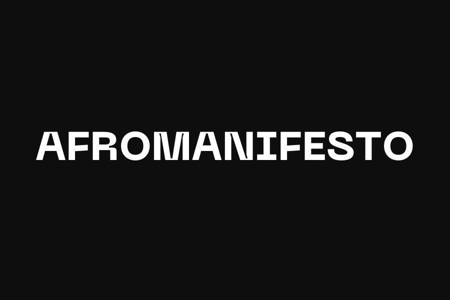 AfroManifesto Exhibition — Page Banner