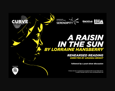 A Raisin in the Sun, an illustration of a woman looking over her shoulder. She wears a head wrap.