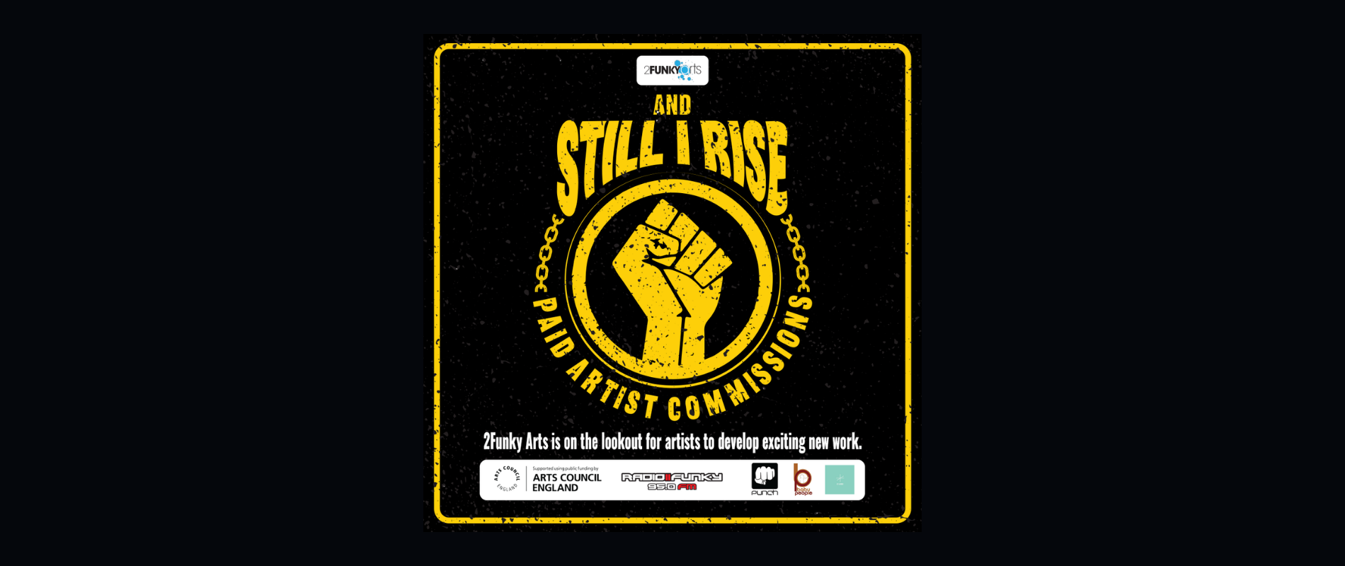 And Still I Rise — Page Banner