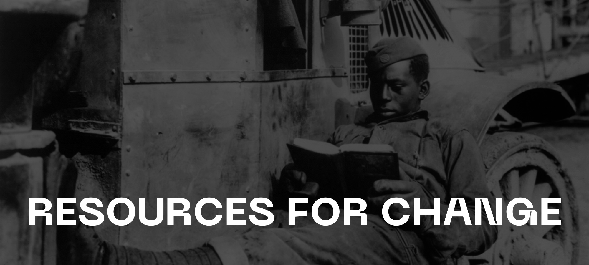 Resources For Change — Page Banner